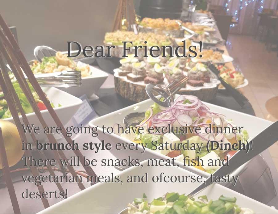 Dinner offer in restaurant